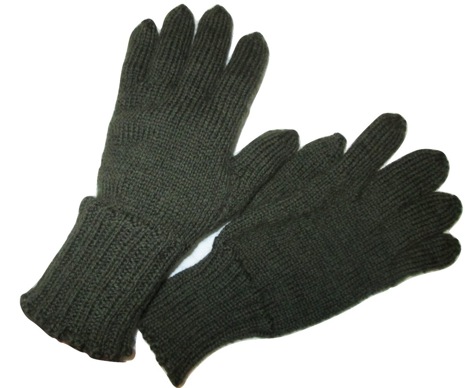WWI Great War Knitted Gloves Reproduction