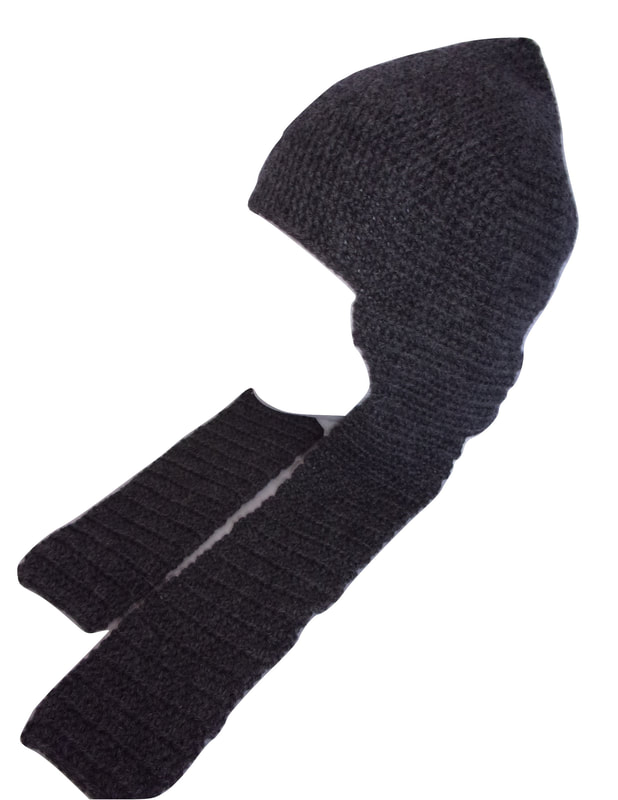 French Crocheted WWI Great War Balaclava