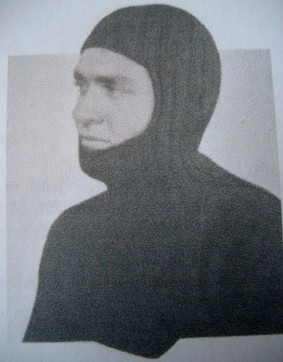WWII balaclava with chest and back protector