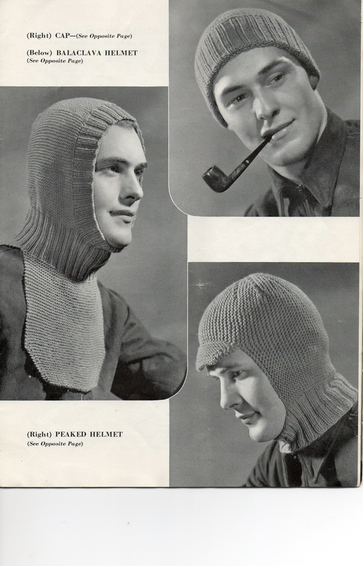 WWII caps and balaclavas