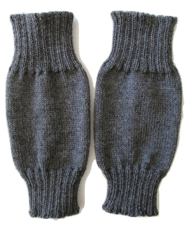 WWI Great War French Leg Warmers, Jambiere au tricot.