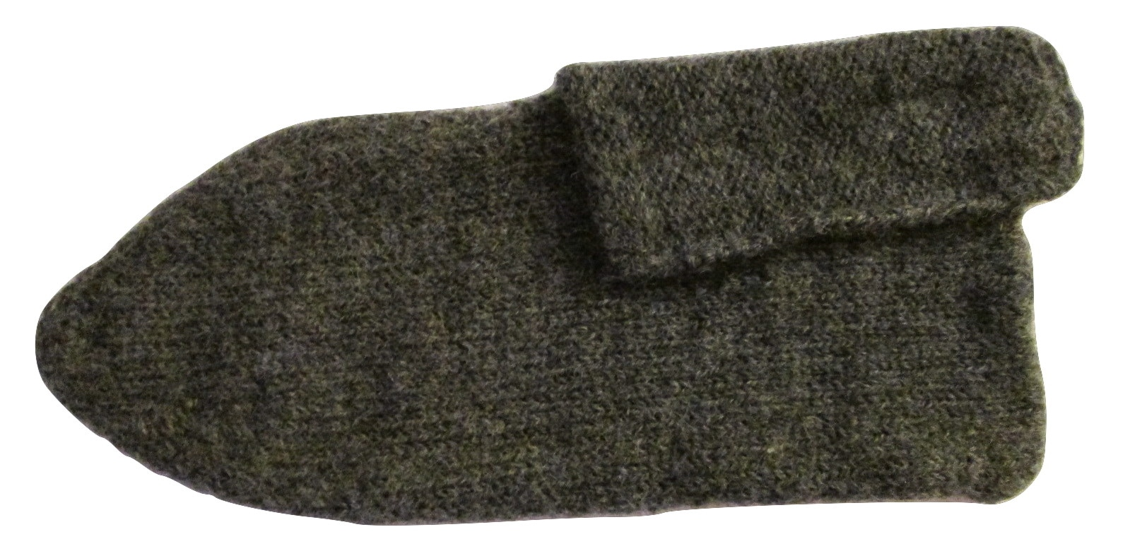 WWI Great War Knitted Wool Sock Slipper