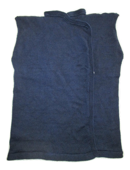 Great War French Vest, Gilet san Manches, Knitted