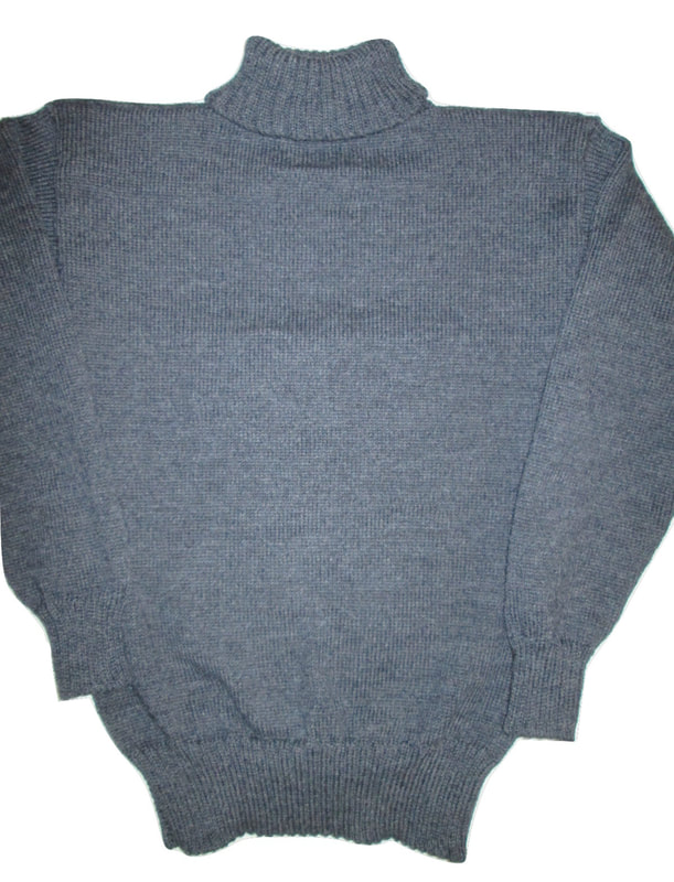 Great War Knitted Turtleneck Sweater, Made in USA