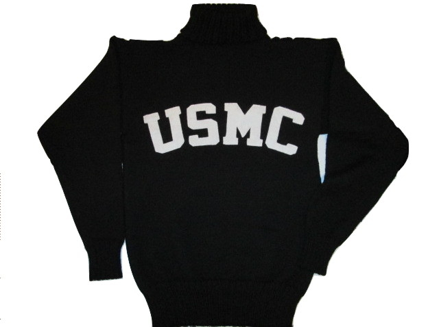 WWI Great War USMC Sweater, Handmade, Knitted