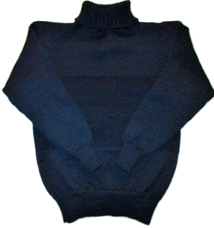 WWI Sweater Plain Jersey Knitted
