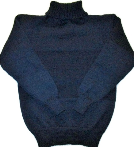 WWI Knitted Turtleneck Sweater Reproduction, Great War