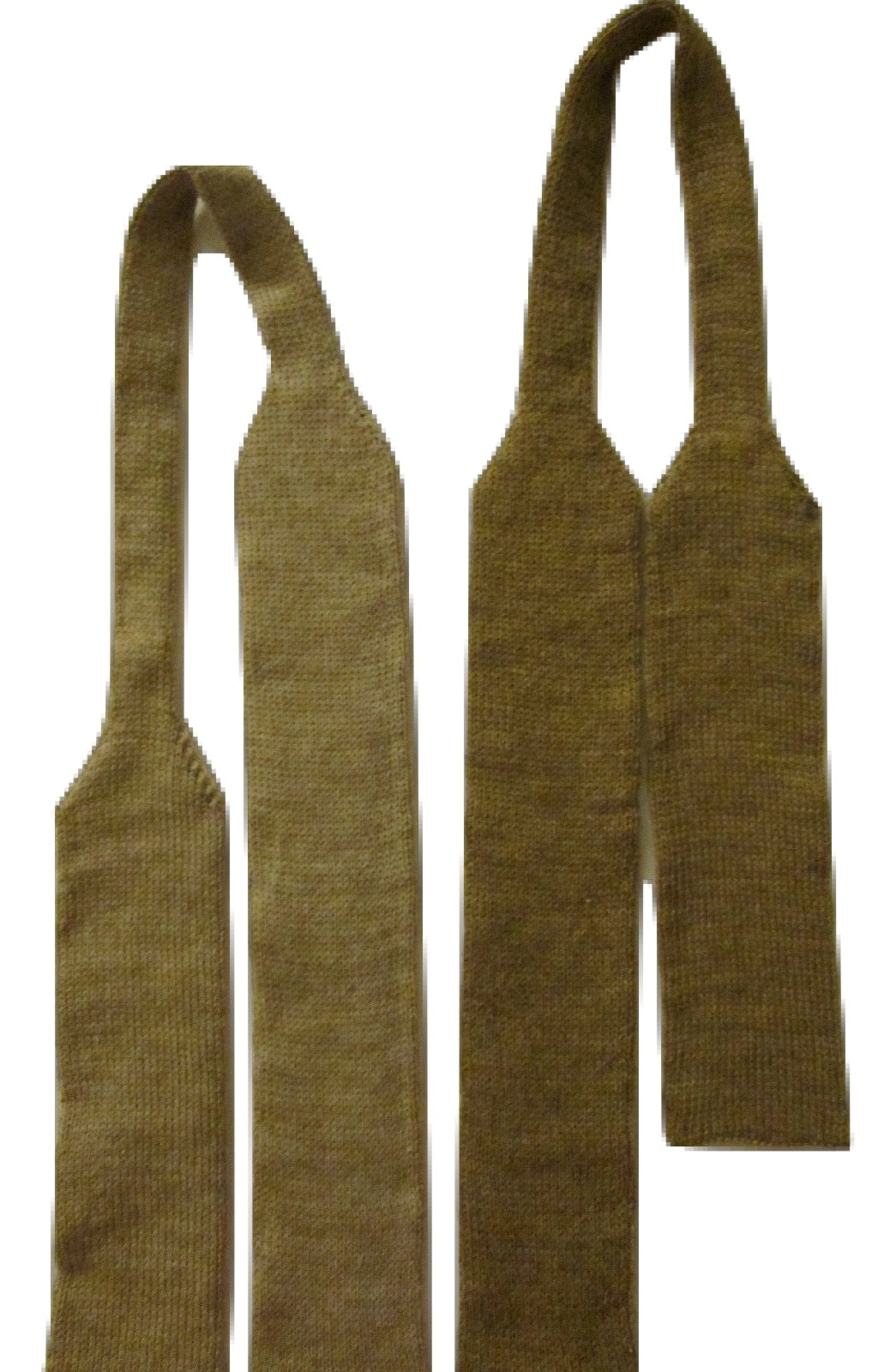 WWI Great War Knitted Wool Ties